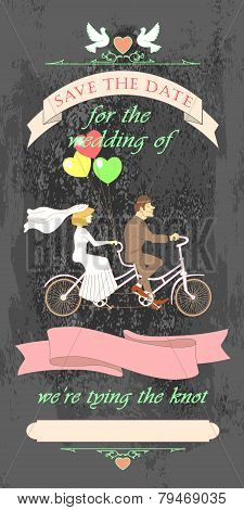 Wedding Invited Tandem01Black