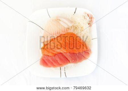 Sashimi In Plate