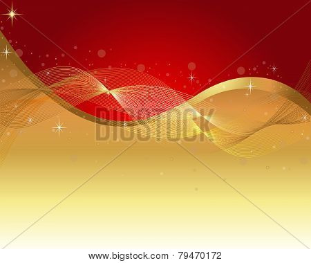 Abstract Vector-Maroon & Gold