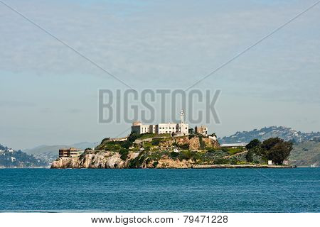 alcatraz island in San francisco, California
