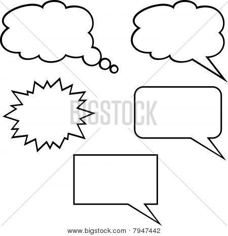 Callout Shapes (Speech Bubbles)