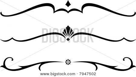 Vector Decorative Rule