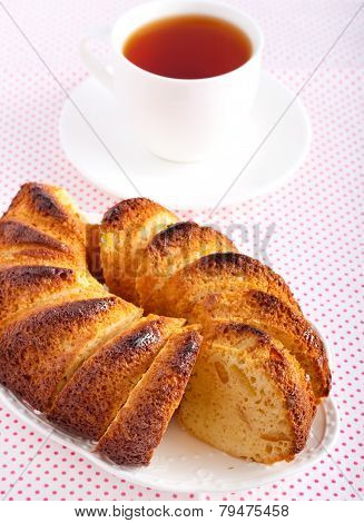 Slices Of Ring Cake