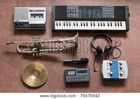 music still life