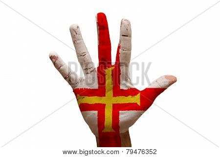Palm Flag Guernsey