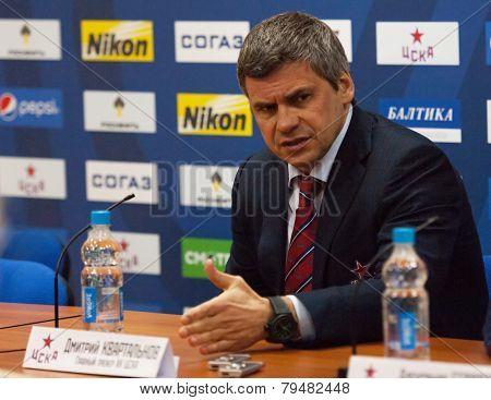 Kvartalnov Nikita, Head Coach Of Cska Team