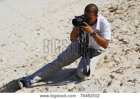 Unidentified photographer from Royalton All-inclusive Resort and Casino at the Bavaro beach