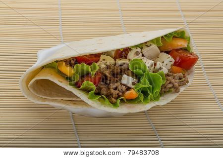 Pork Tortilla