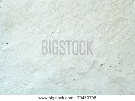 Texture Of The Old White Wall