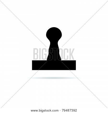 Seal Black Vector