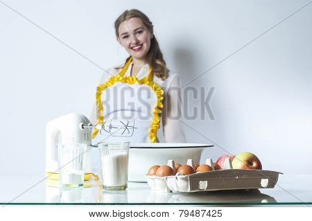Homemaker In Kitchen