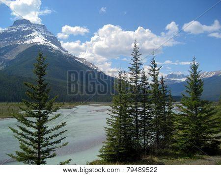 Alpine River Valley