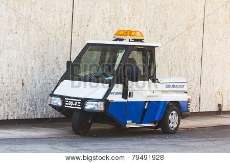 Tricycle Police Car
