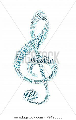 Classical Music Word Cloud
