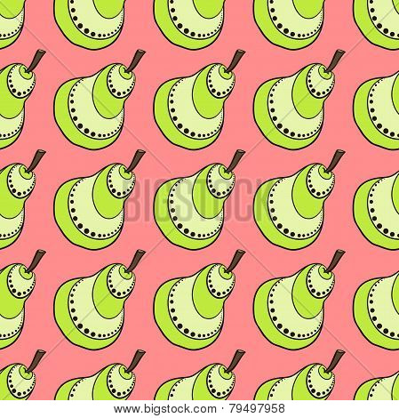 Red Pear Pattern