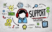 picture of solution  - Support Solution Advice Help Care Satisfaction Quality Concept - JPG