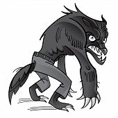 stock photo of ghoul  - Werewolf  - JPG