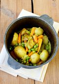 picture of stew pot  - Vegetables - JPG