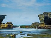 stock photo of tanah  - the Tanah Lot temple - JPG