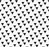 pic of trapezoid  - Black and white geometric seamless pattern with triangle and trapezoid abstract background vector EPS10 - JPG