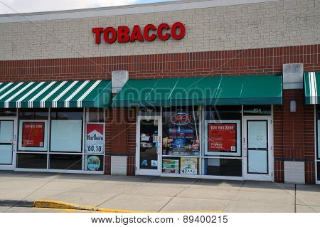 Tobacco Store in a Strip Mall