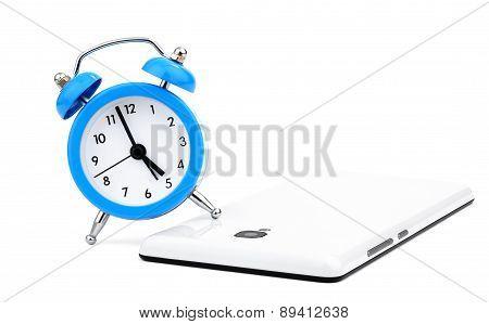 Alarm clock and phone