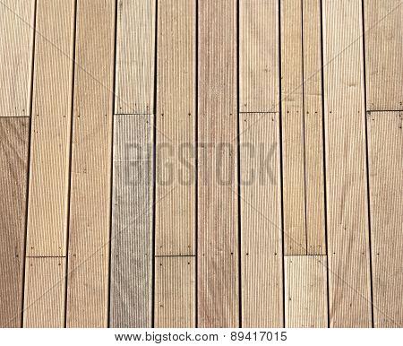 Old Wooden Pier Floor.