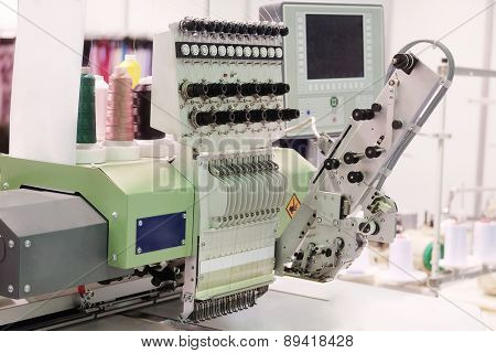 Textile industry - weaving machine