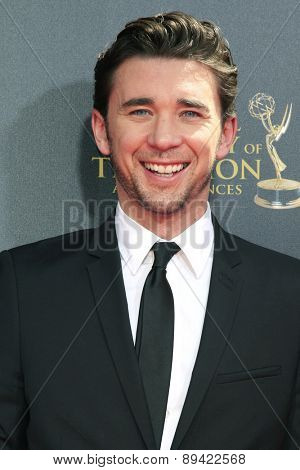 BURBANK - APR 26: Billy Flynn at the 42nd Daytime Emmy Awards Gala at Warner Bros. Studio on April 26, 2015 in Burbank, California