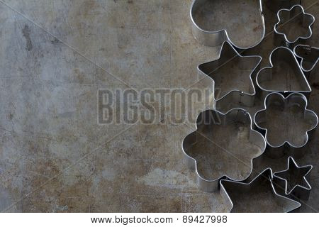 Cookie Cutter Shapes from Above