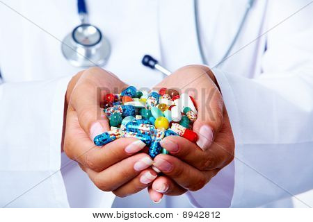 Handful Of Pills