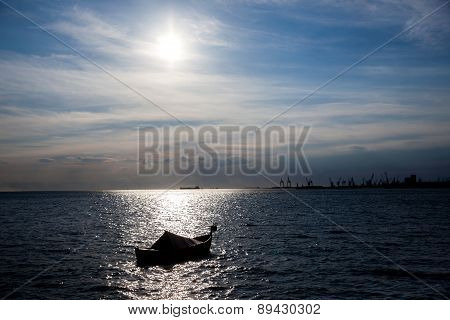 Port Of Thessaloniki, Greece