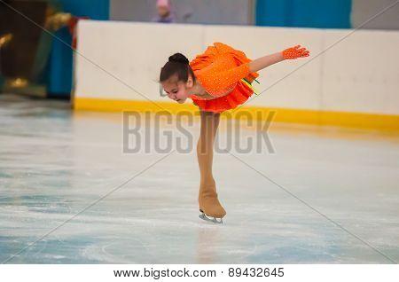 Girl Figure Skater