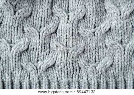 Abstract color knitted pattern background texture