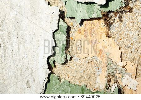 Peeling Paint on cement textured background
