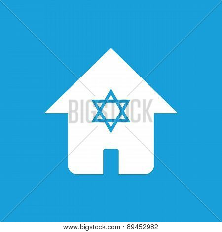 House with star symbol