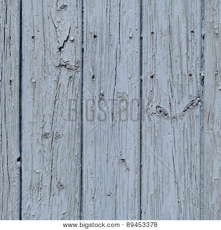 painted wood planks closeup