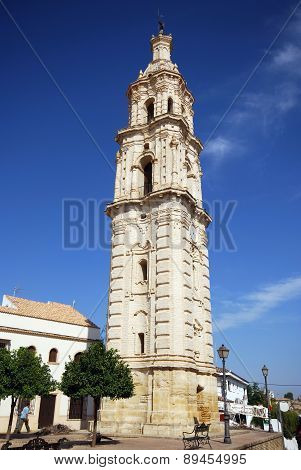 Clock tower, Aguilar de la Frontera.