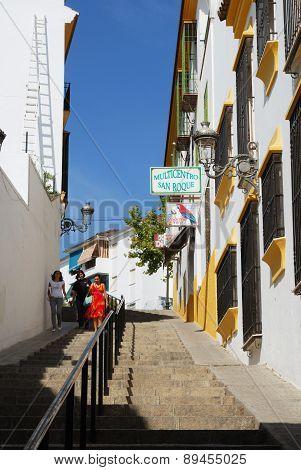 Town Street, Aguilar de la Frontera.