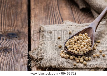 Portion Of Soy Beans