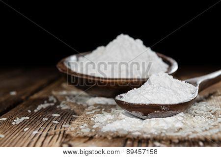 Portion Of Rice Flour