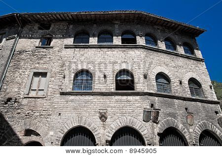 Palace of the People's Captain. Gubbio. Umbria.