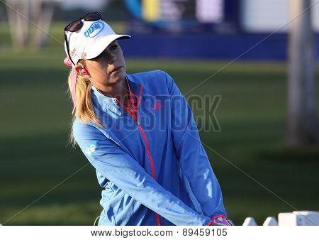 Paula Creamer  at the ANA inspiration golf tournament 2015