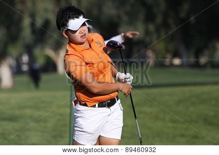 pk kongkraphan at the ANA inspiration golf tournament 2015