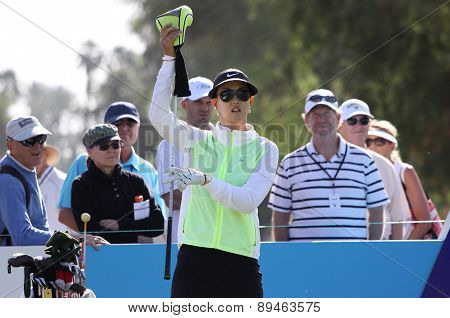 Michelle Wie at the ANA inspiration golf tournament 2015