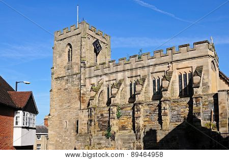 St James Chapel, Warwick.