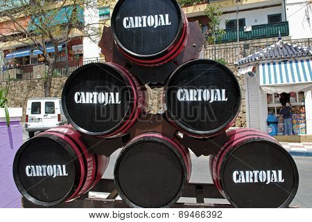Cartojal wine barrels, Marbella.