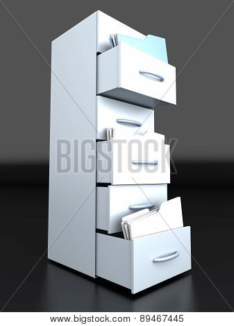 Filing Cabinet.