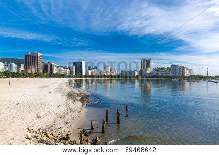 Botafogo beach in Rio de Janeiro, Brazil