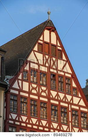 Historic Architecture In Frankfurt Am Main